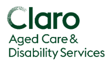Claro Aged Care and Disability Services